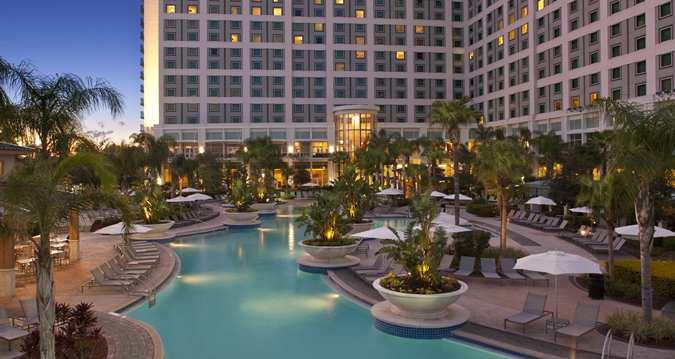 Hilton Orlando Pool Area